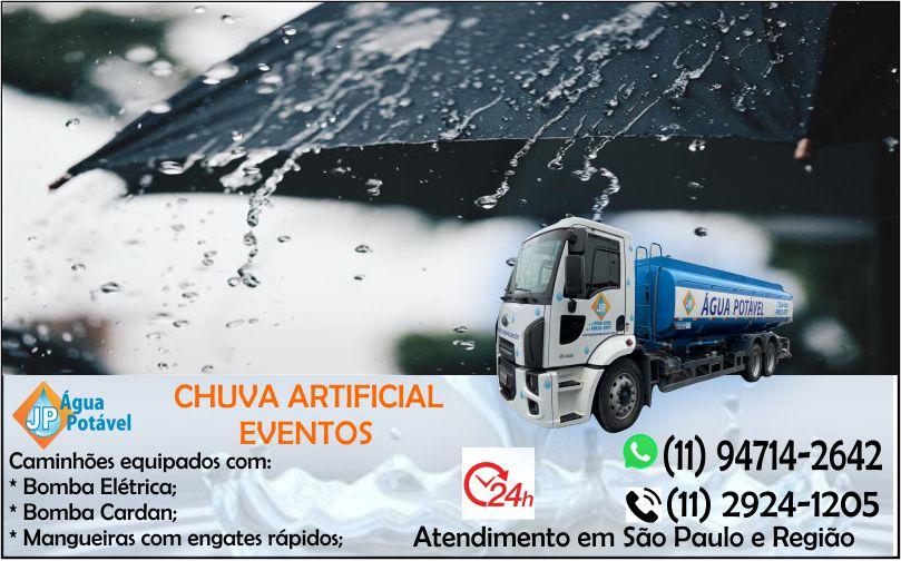 Caminhão de água para eventos em São Paulo